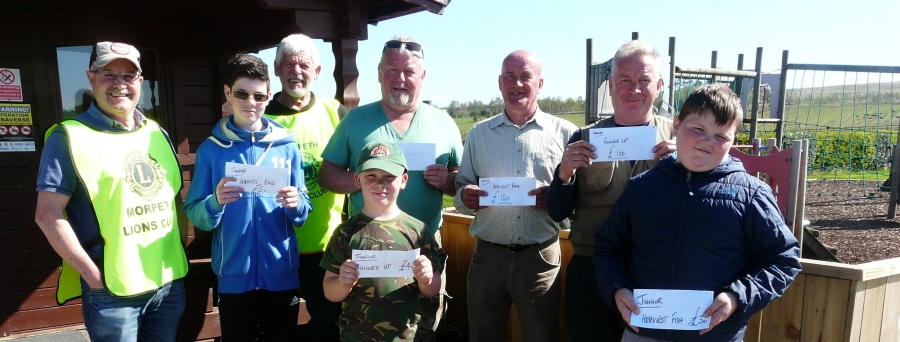 Morpeth Lions' 2018 Charity Fishing Competition